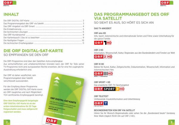 Orf Karte Kosten.Orf Digital Technische Hilfestellung Betriebsanleitung